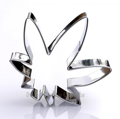 Marijuana Leaf Cookie Cutter- Stainless Steel
