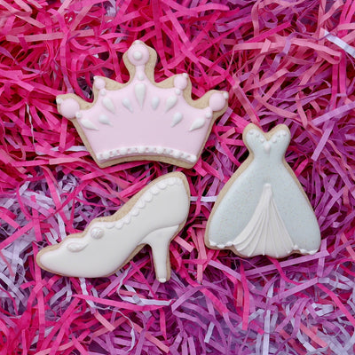 Princess Kingdom Cookie Cutter Set, 10 Piece, Stainless Steel