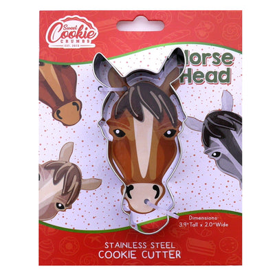 Horse Head Cookie Cutter - Stainless Steel