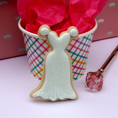 Dress Cookie Cutter- Stainless Steel
