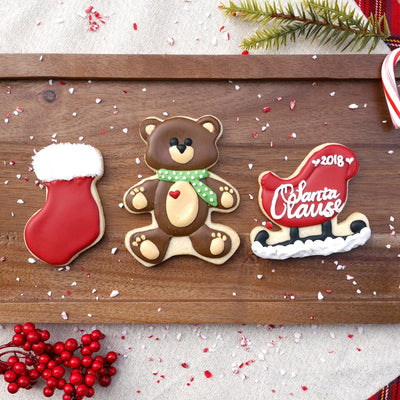 Sleigh Cookie Cutter - Stainless Steel