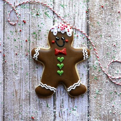 "5.8"" Large Gingerbread Man Cookie Cutter - Stainless Steel"