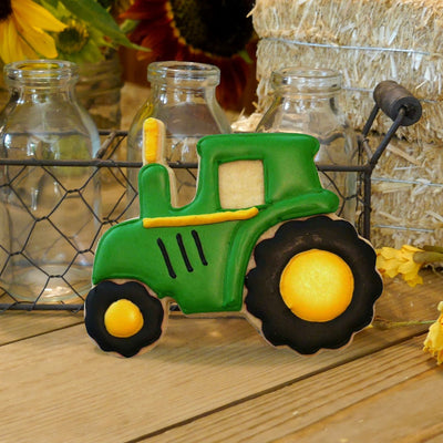 Tractor Cookie Cutter- Stainless Steel