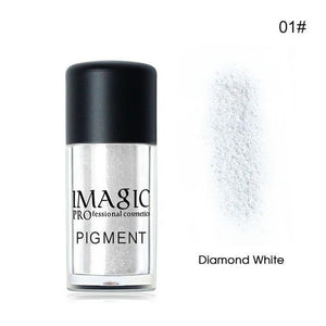 IMAGIC Pro Glitter Eyeshadow Loose Powder Shimmer Eye Shadow (9 Colors)