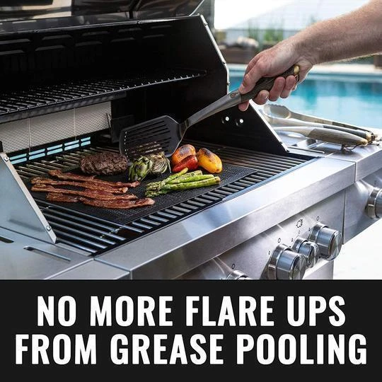 Non-stick BBQ Grill Mesh Mat - 50% OFF TODAY