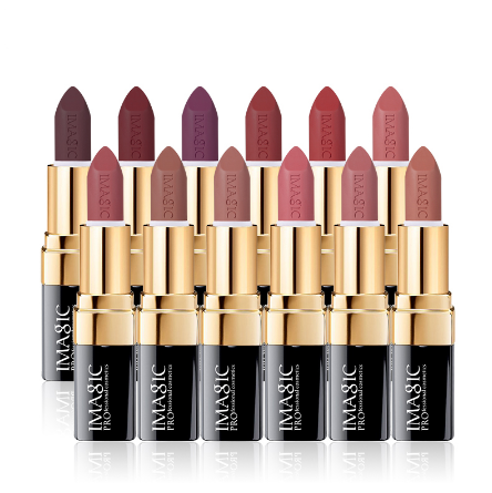 IM 12 color waterproof moisturizing lipstick