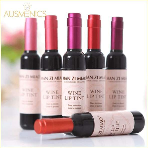 Wine Liquid Lipstick 6 Pcs Set + GIFT