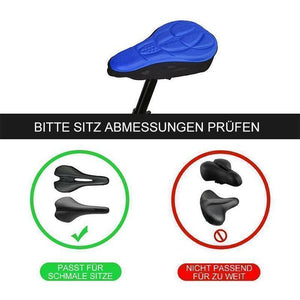 3D silicone soft bike saddle cover