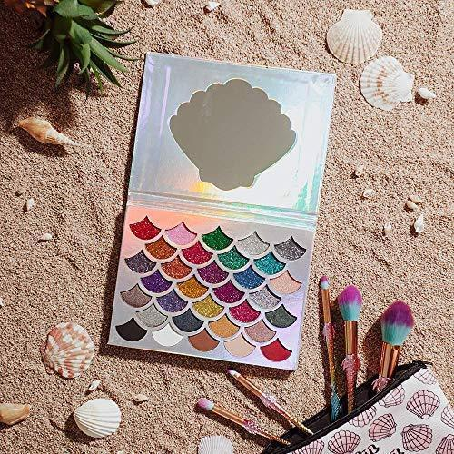 The Original Mermaid Glitter Eyeshadow Palette - (32 Colors)