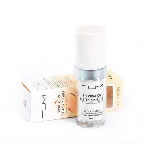 TLM™ Color Changing Foundation(All Day Flawless)