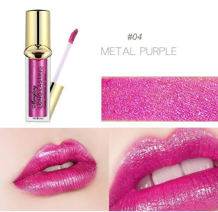 Metallic Pearlescent Matte Lip Gloss