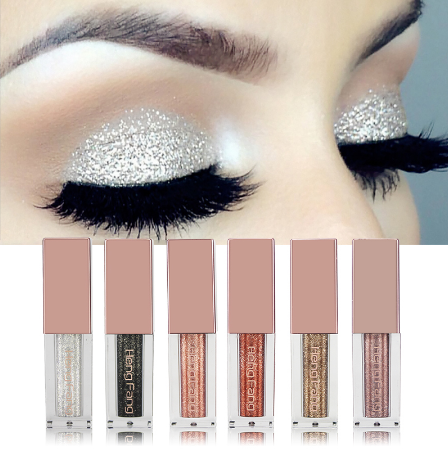 Korean metal liquid glitter eye shadow