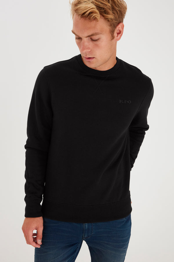 Blend Sweater Black A Brilliant Disguise