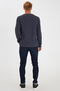 Blend Long Sleeved T-shirt Blue A Brilliant Disguise