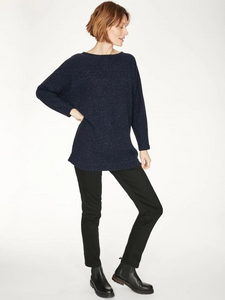 Thought Chanya Jumper Midnight Navy - Size: 8