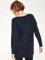 Load image into Gallery viewer, Thought Chanya Jumper Midnight Navy - Size: 8
