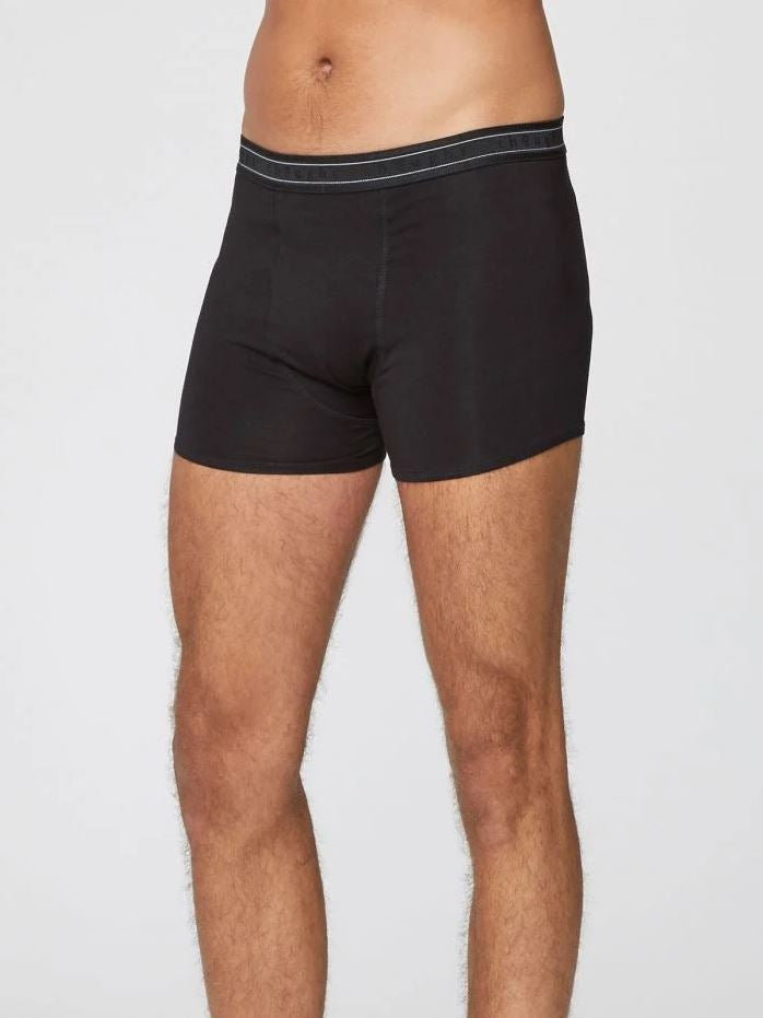 Thought Arthur Bamboo Boxers Black