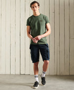 Load image into Gallery viewer, Superdry Organic Cotton Workwear Pocket T-Shirt Four Leaf Clover