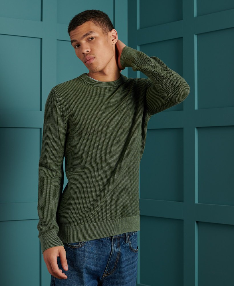 Superdry Mens Green Sweater A Brilliant Disguise