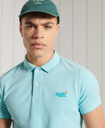 Load image into Gallery viewer, Superdry Classic Pique Short Sleeve Polo Shirt Spearmint