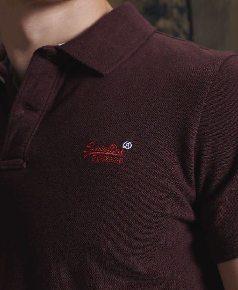 Superdry Polo Red A Brilliant Disguise