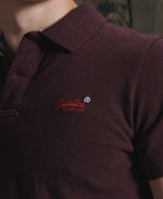 Load image into Gallery viewer, Superdry Polo Red A Brilliant Disguise