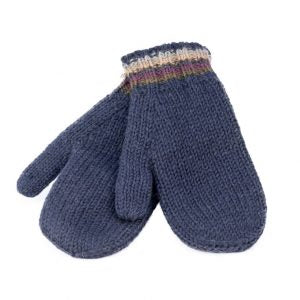 KuSan Mittens With Fleece Lining Navy