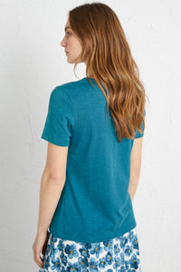 Seasalt Reflection T-Shirt Swell - Size: 8