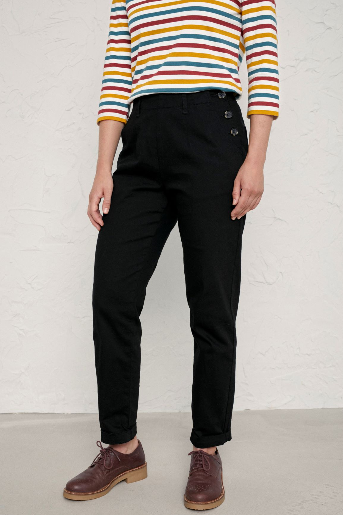 Seasalt Trousers Black A Brilliant Disguise