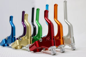 RSC Levers. Raw Machined Anodized Finish. Universal Fit. OG Bone Series.