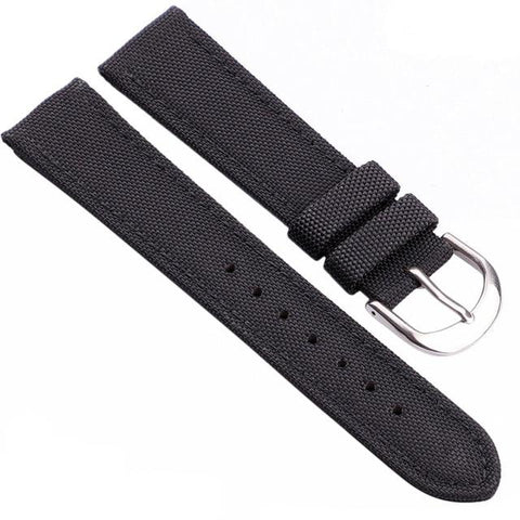 Image of Blue / Green / Black Nylon (Silver Buckle) (TWS021)