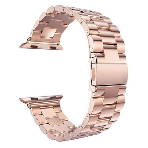 Blue / Pink / Silver / Black / Gold / Rose Gold Stainless Steel (For Apple Watch) (TWS029)