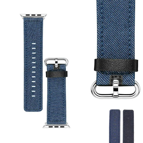 Denim Watch Bands (For Apple Watch) (TWS063)