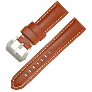 Green / Brown / Black Leather Watch Band (TWS098)