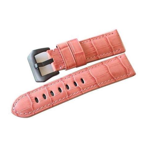 Orange / Red / Pink / Blue / Purple / Green Leather Watch Band (TWS099)