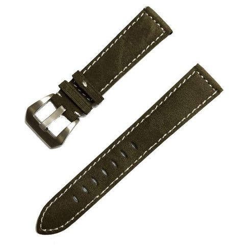 Image of Red / Blue / Brown / Black Leather (Silver Buckle) (TWS015)