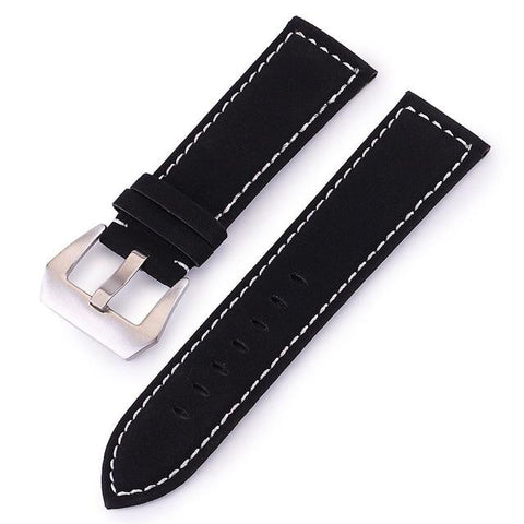 Red / Blue / Brown / Black Leather (Silver Buckle) (TWS015)