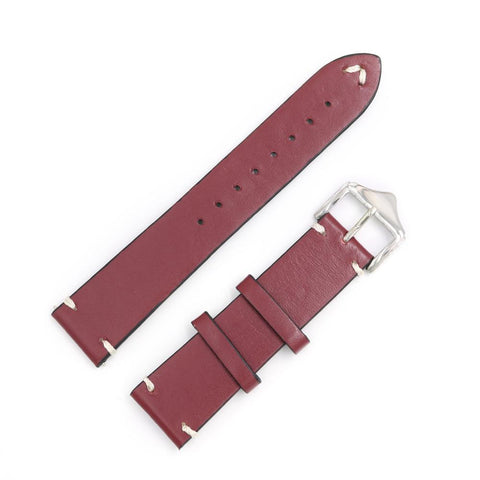 Image of Red / Blue / Brown / Black Leather (Silver Buckle) (TWS022)