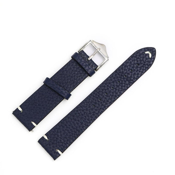 Red / Blue / Brown / Black Leather (Silver Buckle) (TWS022)