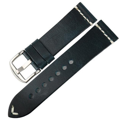 Red / Blue / Green / Brown / Black Leather (Silver / Black Buckle) (TWS008)