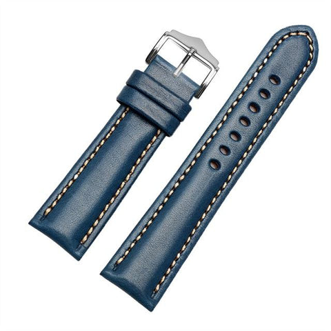 Image of Red / Blue / Green / Brown / Black Leather (Silver Buckle) (TWS016)
