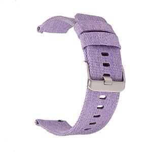 Image of Red / Pink / Blue / Purple / Green / Brown / Grey / Black Nylon Canvas Watch Band (Quick Release Pin) (TWS073)