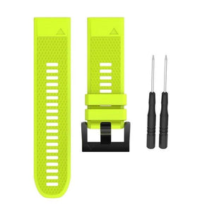 Silicone Watch Band (For Garmin Fenix) (TWS158)