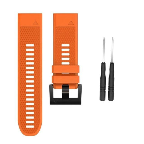Image of Silicone Watch Band (For Garmin Fenix) (TWS158)