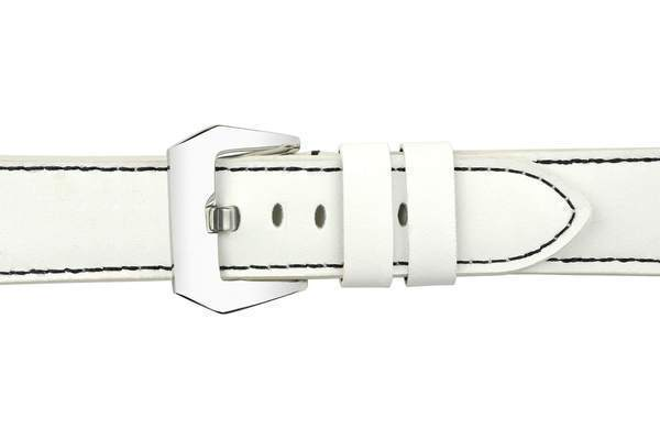 White Leather (Silver Buckle) (TWS001)