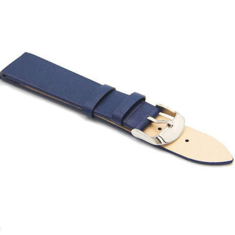 White / Red / Pink / Blue / Purple / Brown / Black Leather (Silver Buckle) (TWS020)