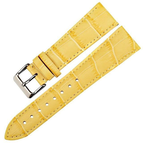 Image of White / Yellow / Red / Pink / Blue / Purple / Green Leather (Silver Buckle) (TWS003)
