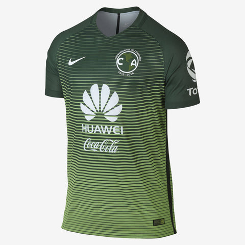 NIKE CLUB AMERICA AUTHENTIC MATCH THIRD JERSEY 2017/18.