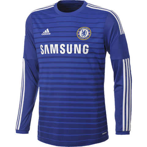 ADIDAS CHELSEA FC LONG SLEEVE  HOME JERSEY 2014/15.