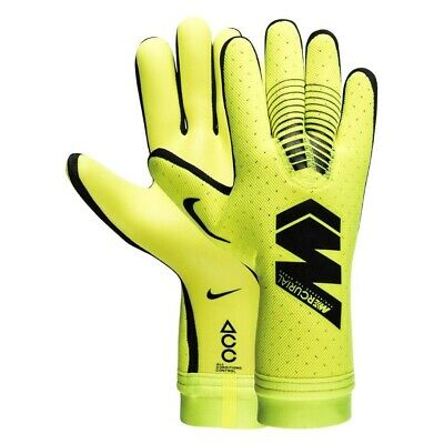 NIKE GK MERCURIAL TOUCH ELITE GOALKEEPER GLOVES Volt/Black/Black